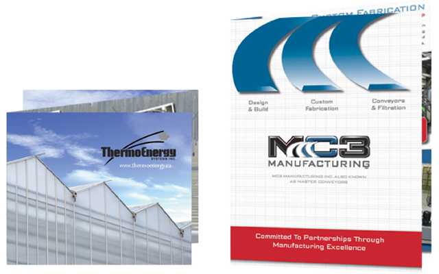 Brochure Design Thermo Energy and MC3