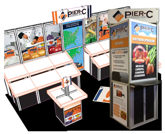 Pier-C Trade Show Booths